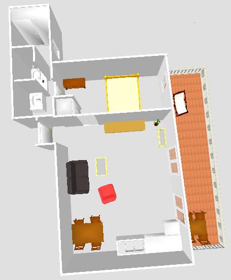 plan appartement le Néflier